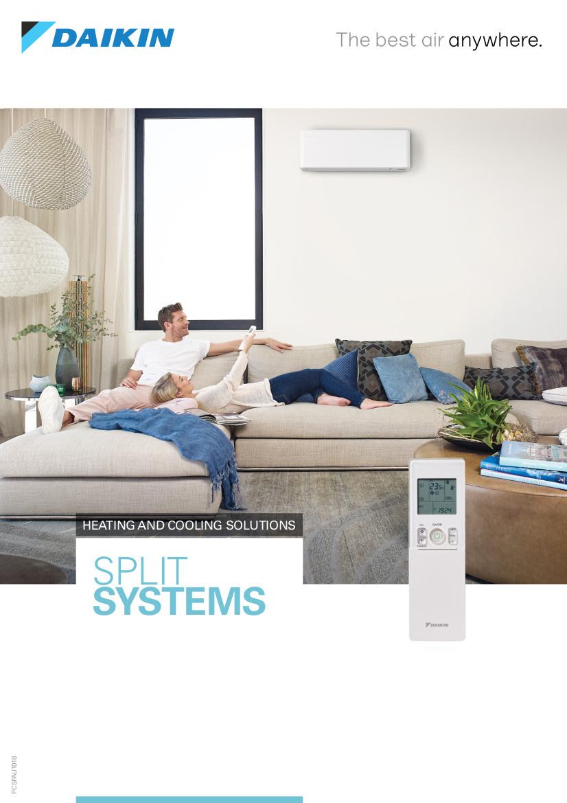 Daikin Split Systems Brochure