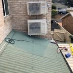 Photo of 2 outdoor units installed
